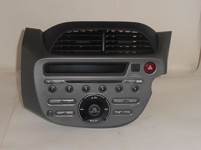 GENUINE HONDA JAZZ NEW SHAPE WMA RADIO CD MP3 PLAYER WITH CODE UNMARRIED